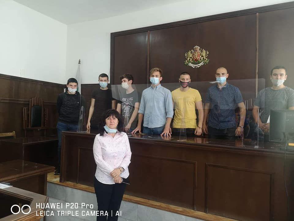 Посещение на Окръжен съд Добрич - голяма снимка